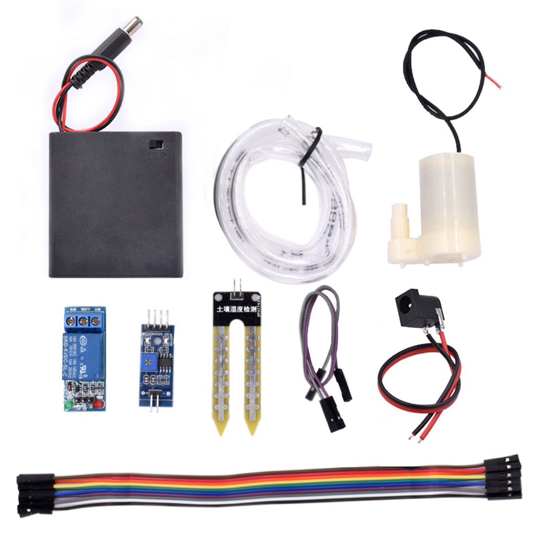 Water Pump Automatic Irrigation Module DIY Kit Soil Moisture Detection Automatically Watering