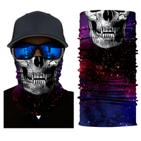 Balaclava Motorcycle Half Face Mask Riding Windproof Face Masks Funny Outdoor Sports Wicking Seamless Scarf Neck Bicycle Scarf