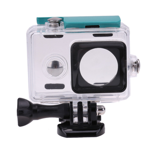 Image 4 - GloryStar 45M Underwater Diving Waterproof Case for Xiaomi Yi Sports Waterproof Box for Xiaomi yi Action camera Protective