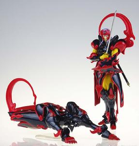 Image 4 - Figuras de acción de COMIC CLUB, juguetes en stock, Dasin TenKuu, Senki, Shurato, Kuroki, Gai, Leiga, nordina, armadura de metal