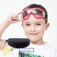 아이들을위한 안경 5-12 pc 보호 렌즈 방진 물 스플래시 방지 안전 anti-impat 고글 재생 물 사이클링
