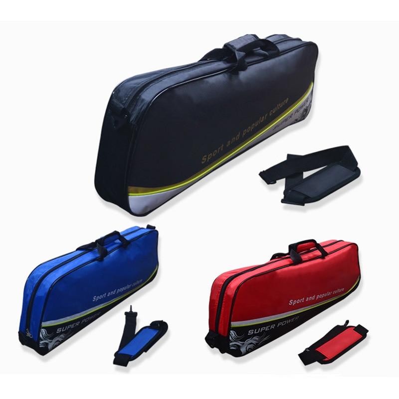 Waterproof Nylon Badminton Bag Racket Sport Bags Can Hold 1-3 PCS Badminton Squash Rackets Padel Gymbag Handbag