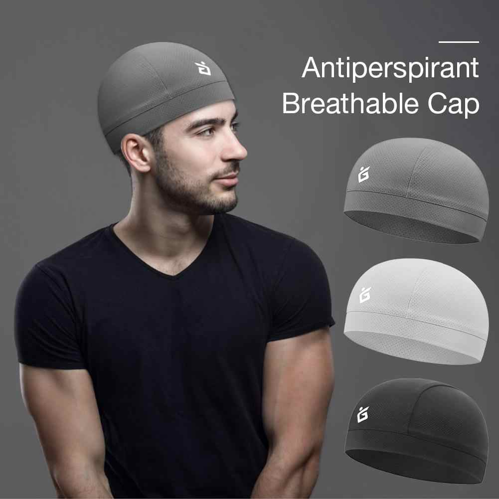 Vocht Wicking Cooling Schedel Cap Inner Liner Helm Beanie Dome Cap Zweetband Snel Droog Ademende Hoed Helm Crossmotor Helm