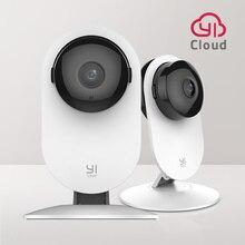 YI cámara de seguridad interior inalámbrica, sistema de vigilancia, detección de movimiento, visión nocturna, YI Cloud, 1080p, 2 uds.