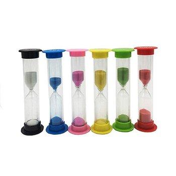 Mini Hourglass 30 Seconds 1 2 3 5 10 Minutes Timer Children'S Gift Toys 4Pcs/6Pcs Desktop Decoration Hourglass недорого