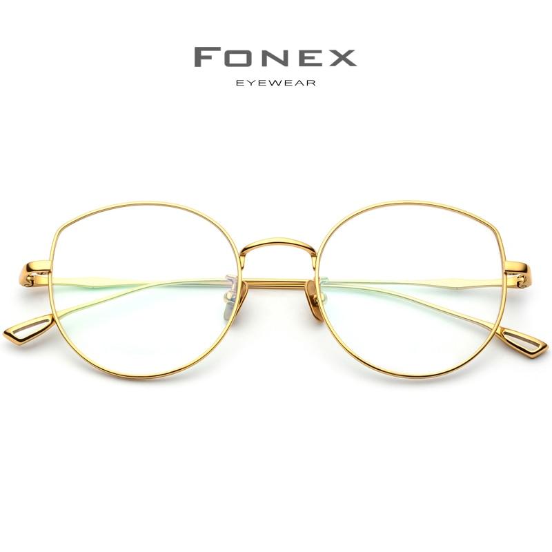 Pure B Titanium Glasses Frame Women Ultralight Prescription Eyeglasses Men Cat Eye Spectacles Myopia Optical Frame Eyewear 868 in Women 39 s Eyewear Frames from Apparel Accessories