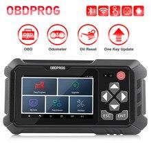 OBDPROG-escáner profesional M500 OBD2, corrección de kilometraje en cuentakilómetros, ajuste de aceite, reinicio de odómetro, herramientas Obd 2, herramienta de diagnóstico de coche