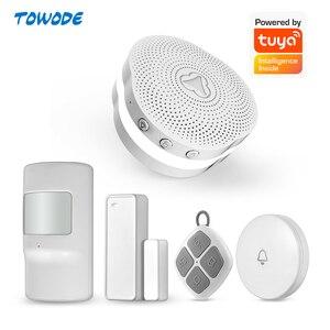 Image 1 - Towode Tuya APP المنزل الذكي متعدد الوظائف مودم الواي فاي نظام إنذار ذكي نظام التحكم جرس ضوء الليل