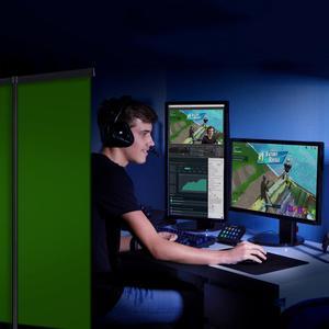 Image 4 - خلفية كروما قابلة للطي مقاس 110 × 200 سنتيمتر ، خلفية خضراء مقاومة للتجاعيد للتصوير الفوتوغرافي والفيديو ويوتيوب