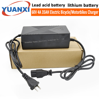 60V 4A 35AH  Lead acid battery lithium battery charger Electric Bikes motorcycle chargers liitokala 60v 35ah electric scooter bateria 60v 35ah electric bicycle lithium battery scooter 60v 1000w 2000w ebike battery