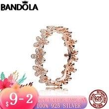 Горячая Распродажа реальные 925 стерлингового серебра и розового