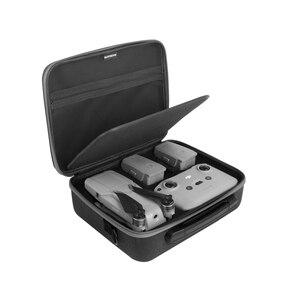 Image 2 - נייד Drone תיבת DJI Mavic אוויר 2 תיק כתף תיק אוויר 2 תיק נשיאה תיק מרחוק בקר אחסון תיק עבור mavic אוויר 2