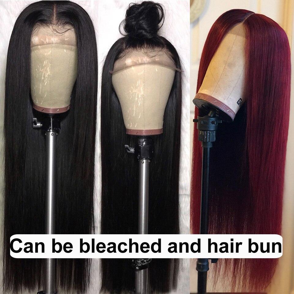 H86bc4004480447a98b2dff7f418c1bd1a Karizma 4x4 Lace Closure Human Hair Wigs Remy Closure Lace Wigs Brazilian Hair Wigs Straight Lace Closure Wigs With Baby Hair