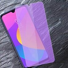 Xiaomi mi 9 se 9 t pro cc9 cc9e jogar mi 10 lite juventude 5g protetor de tela de vidro temperado mi9 se 9 t pro mi 9 lite anti vidro azul