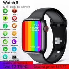 Смарт часы dzlst для мужчин и женщин iwo 12 w26 t500 android