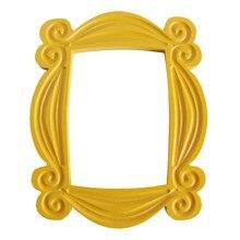 Série de tv amigos artesanal monica porta quadro madeira amarelo mon photo frames collectible decoração casa coleção presente