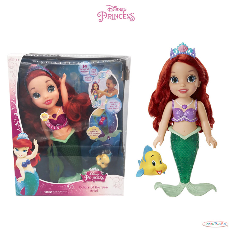Disney Princess Toys Mermaid Ariel Children Girls Toys Sharon Dolls Aaction Figure Model Toys Birthday Christmas Gifts Toys