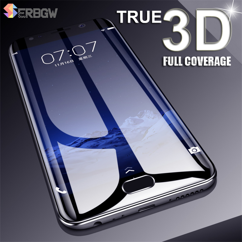 3D Full Cover Tempered Glass For <font><b>Meizu</b></font> M3 M5 M6 Note M3S M5S <font><b>M5C</b></font> M6S M6T Pro 6 6S pro 7 Plus Screen Protector Protective Glass image