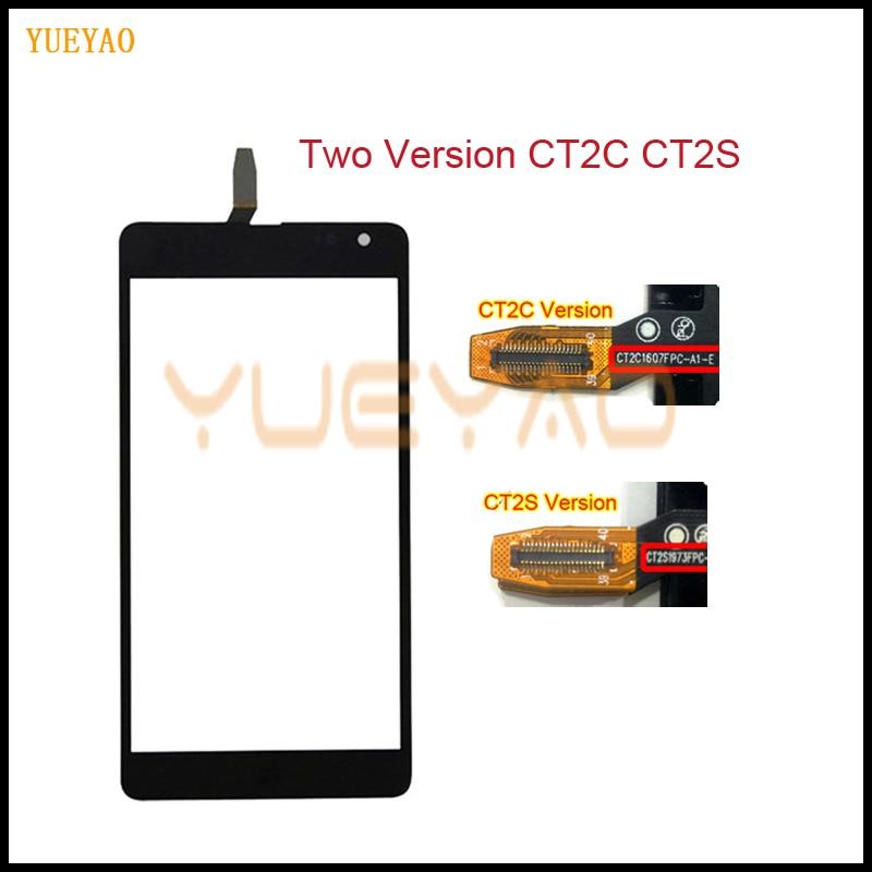 5,0 ''для Nokia Microsoft Lumia 535 N535 CT2S1973 CT2C1607 сенсорный дигитайзер Датчик Передняя стеклянная панель объектив N535 сенсорный экран черный