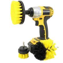 Drillbracket 3 шт. сверлильная щетка чистящий инструмент набор для чистки плиточные затирки душевая кабина Ванна общего назначения для очистки