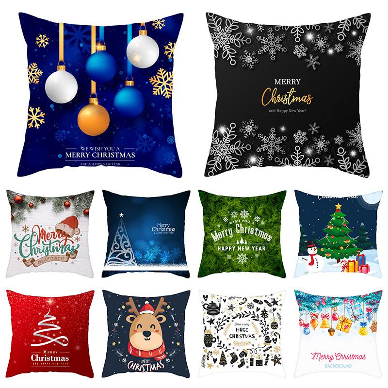Nanacoba Рождественский подарок ко Дню Чехлы Санта Клаус принт