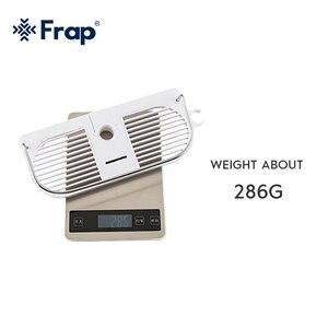 Image 5 - FRAP ห้องน้ำชั้นวางของติดผนัง bath ผู้ถือ bath อุปกรณ์ฮาร์ดแวร์ห้องน้ำแขวนชั้นวางของ