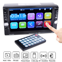 Universal HD Car Multimedia Player Andriod Car MP5 Player Stereo MP3 MP4 Player 6.6 Touch Screen Video Hands free Bluetooth