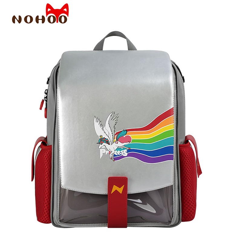 Children School Bag For Girls Kid Orthopedic Backpack For School Students Bookbags Japan PU Waterproof Backpacks For School Teen