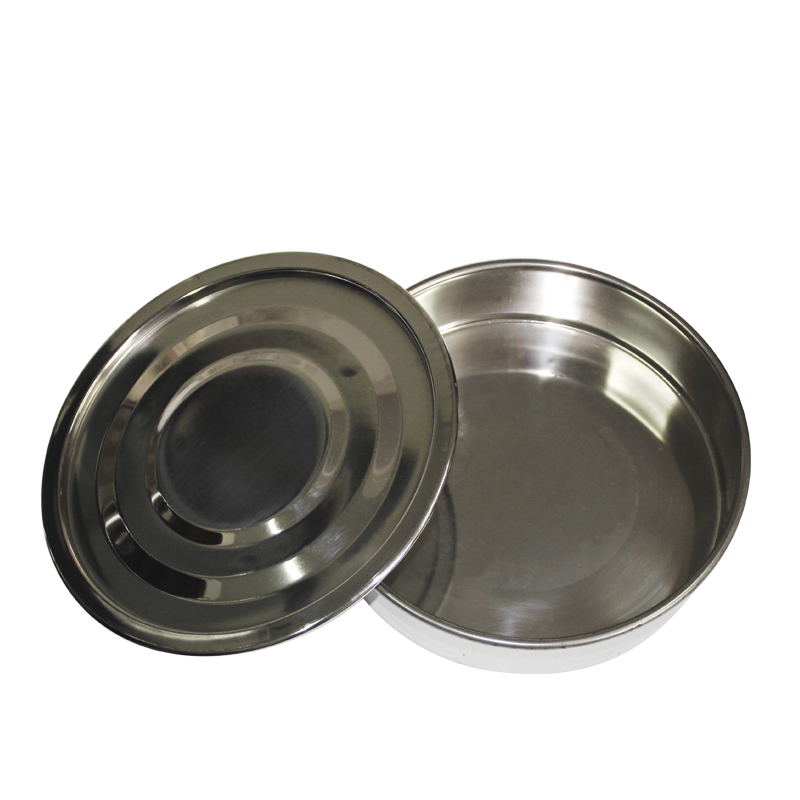 304 Stainless Steel Lid And Bottom Test Sieve Standard Test Sieve Laboratory Sieve Diameter 20cm