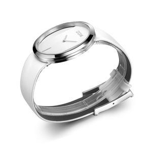 Image 3 - DOM marke skeleton Uhr Frauen luxus Mode Lässig quarz uhren leder leinwand Dame frauen armbanduhren Mädchen Kleid LP 205 1M