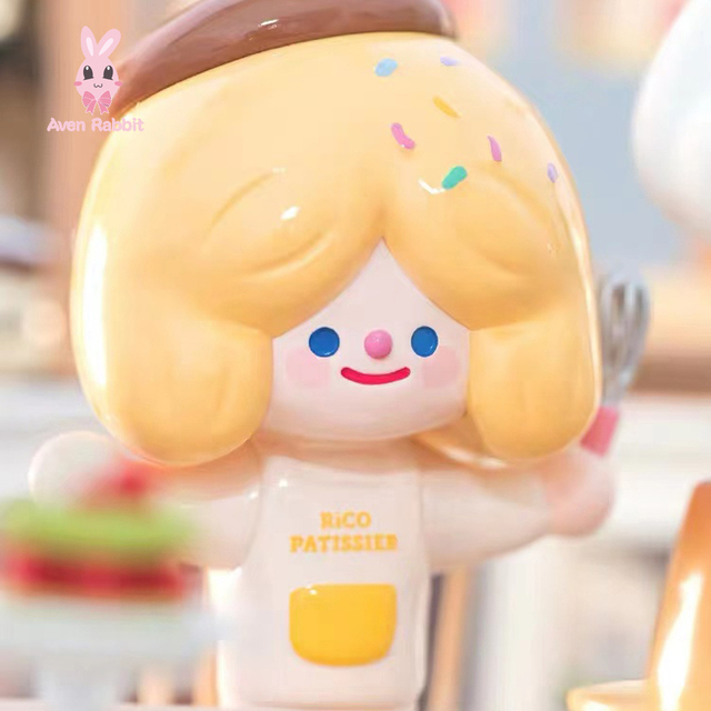 Blind Box Toys RiCO Afternoon Tea Blind Box Guess Bag Caja Ciega Blind Bag Toys for Girls Anime Figures Cute Model Birthday Gift 1