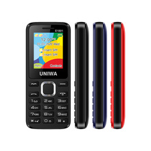 UNIWA E1801 2G GSM Bar Feature Mobile Phone Dual SIM CellPhone For Elder Wireles