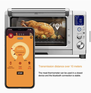 Image 5 - Meat Thermometer Wireless Digital Kitchen Food Cooking Oven Grill Smoker BBQ Accessories Bluetooth Connect Waterproof Best Gift