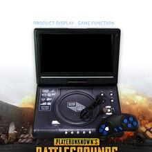Портативный dvd плеер 98 дюймов hd видео av вход выход автомобильное