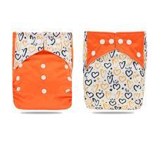 Baby Diaper-Cover Adjustable Hot-Seller New-Print 2pcs/Pack