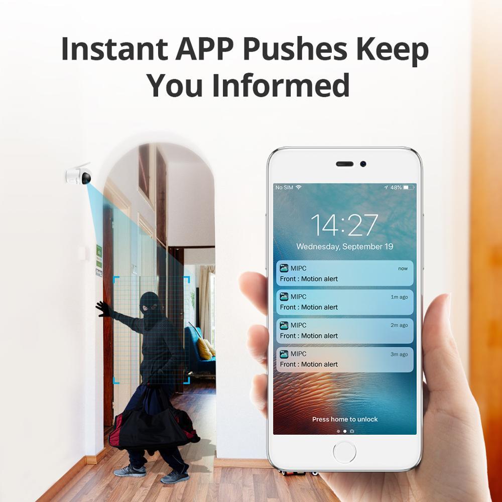 SANNCE Cámara IP de seguridad para el hogar Wi-Fi Mini cámara de - Seguridad y protección - foto 4