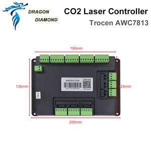 Image 4 - Sistema de controlador láser Co2 DSP, reemplazo de 708S 708C LITE para máquina de grabado y corte láser Co2 AWC7813