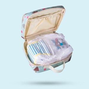 Image 5 - Sunveno Mode Natte Zak Waterdichte Luiertas Wasbare Doek Luier Baby Bag Herbruikbare Natte Zakken 23X18Cm Organizer voor Moeder