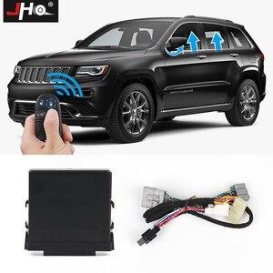 Image 1 - JHO Kit de fermeture automatique de fenêtre électrique de voiture à 4 portes pour 2014 2020 Jeep Grand Cherokee Limited 2016 2017 2018 accessoires