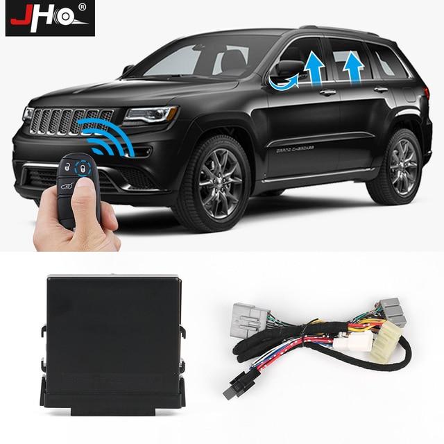 JHO Kit de fermeture automatique de fenêtre électrique de voiture à 4 portes pour 2014 2020 Jeep Grand Cherokee Limited 2016 2017 2018 accessoires