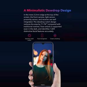 Image 5 - Version mondiale Honor 8A 6.09 pouces Android 9.0 13MP + 8MP 2GB + 32GB MT6765 octa core 3020mAh visage débloqué 4G Smartphone