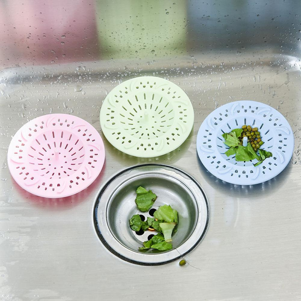 Permalink to Kitchen Sink Strainer Silicone Drain Sink Filter Colander Sewer Hair Stopper Mesh Sink Strainer Kitchen Accessories