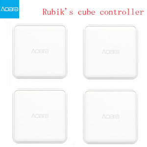 Image 1 - 2020 Aqara Cube magique contrôleur de maison intelligente Zigbee Version 6 Actions opération pour appareil de maison intelligente avec lapplication Mijia Home