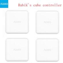 2020 aqara cubo mágico casa inteligente controlador zigbee versão 6 ações operação para dispositivo de casa inteligente com mijia casa app