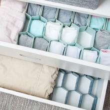 Многоразмерная плата делителя нижнего белья в форме сот, отсек для хранения ящика, отсек для хранения домашнего нижнего белья