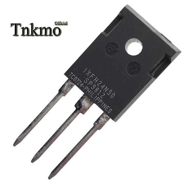 10 قطعة IXFH24N50 IXFH24N50Q إلى 247 IXTH24N50 IXTH24N50Q IXTH24N50L TO247 24A 500V MOSFET واحد التوصيل المجاني