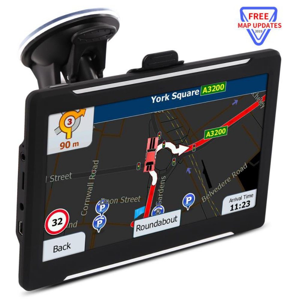 """New Arrival 7 """" Inch Touch Car Truck Navigators GPS Navigation With Bluetooth Sat Nav 256/8GB Free Maps