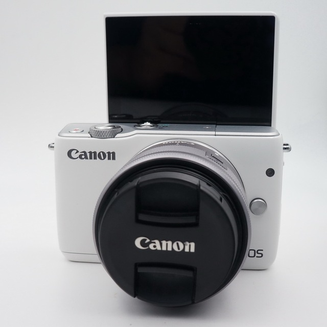 Used,Canon EOS M10 Mirrorless Camera Kit with EF-M 15-45mm Image Stabilization STM Lens Kit(NOT FULL NEW) 2
