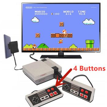 Dropshipping AV Output Mini konsola do gier TV wideo wbudowana 500 620 gier na 4K TV PAL i NTSC przenośna konsola do gier zabawki prezenty tanie i dobre opinie POWKIDDY other about 1 45 m 4 75ft about 122*52*16mm 4 8*2 04*0 62 About 133*100*45mm 5 23*3 93*1 77 about 192*140*75mm 7 55*5 51*2 95