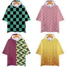Disfraz de Cosplay de Kimetsu No Yaiba, Tanjiro, Kamado, fiesta, Halloween, CS017